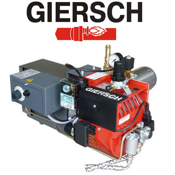 Горелка на отработанном масле Giersch GU 150/GU 200