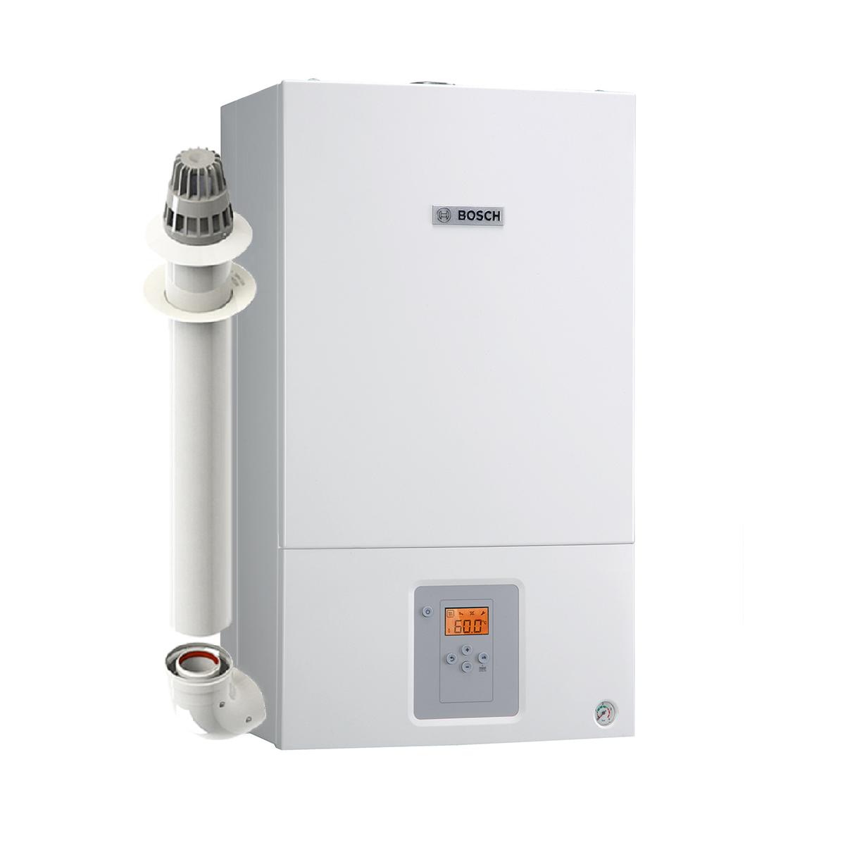 Настенный газовый турбированный двухконтурный котел Bosch Gaz 6000 WBN 35 CRN